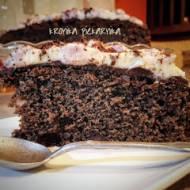 Korzenne ciasto czekoladowe na winie