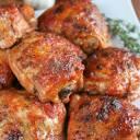 Kurczak z miodem i tymiankiem (pieczony)