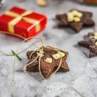 Ciasteczka kakaowe z migdałami