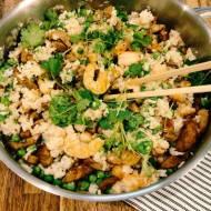 Przepis dnia: Ryż yangchow z polędwiczką i krewetkami