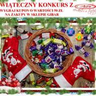 Świąteczny konkurs z Gibar. Wygraj kupon o wartości 50 zł na zakupy w słodkim sklepie.