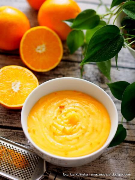 Orange curd - aksamitny krem pomarańczowy