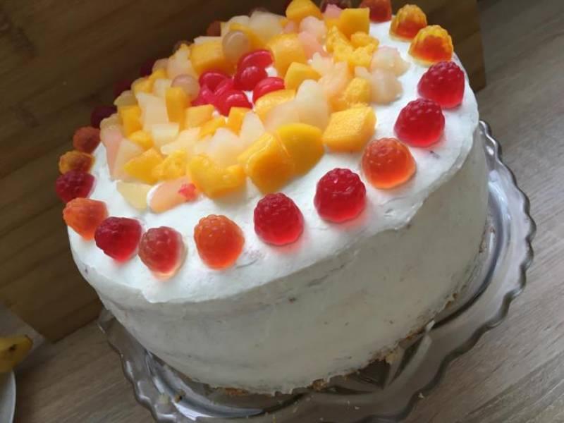 Prosty  i szybki tort okazjonalny