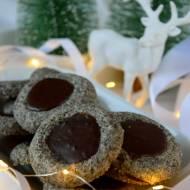Ciasteczka makowe z czekoladą