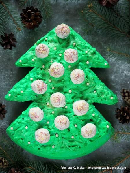 Tort świąteczny Choinka