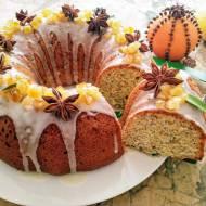 Babka cytrynowo-pomarańczowa z makiem (Ciambella con agrumi e semi di papavero)