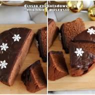 Ciasto czekoladowe - miękkie i puszyste