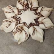 Dożdżowa gwiazda z czekoladą