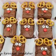 Rodzina Rudolfów czyli świąteczne brownie
