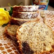 Ciasto cytrynowe z masą makową