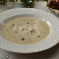 Zupa migdałowa ze Zgody – kuchnia podkarpacka