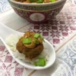 Kulki wieprzowe w pysznym orzechowym sosie