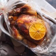 Kurczak pieczony z pomarańczami / Orange roasted chicken