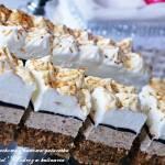 """,,Ciasto orzechowe z kawową galaretką i masą Russel"""""""