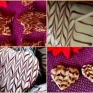 Pierniczki w czekoladowych sweterkach
