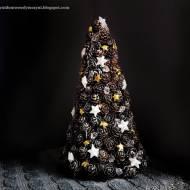 Naturalne dekoracje z szyszek na święta - wianek, bombka i choinka