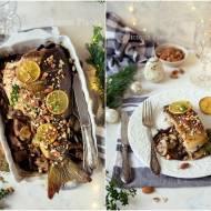 Karp w migdałach i grzybach / Carp in almonds and mushrooms