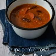 Super szybka i prosta zupa pomidorowa z chorizo i fasolą...