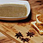Zupa pieczarkowa i grzanki z oliwkową pastą
