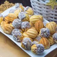 Orzeszki z kremem kokosowym