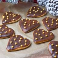 Pierniczki w czekoladowej polewie