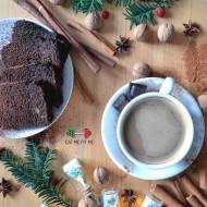 Dietetyczne ciasto czekoladowo-pomarańczowe na mące migdałowej