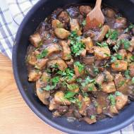 Kurczak z grzybami / Chicken and Mushroom Skillet