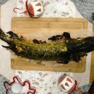 Przepis na Wigilię: Faszerowany pieczony szczupak