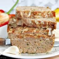 Pieczeń z mięsa mielonego z kapustą pekińską/pieczeń rzymska