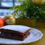 Piernik ekspresowy śliwkowo-czekoladowy