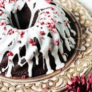 Piernik czekoladowy z marcepanem