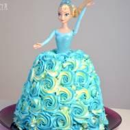 Tort Frozen Elsa Kraina Lodu
