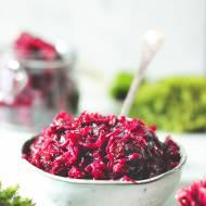 Przepis na chutney z czerwonej kapusty