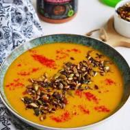 Wegańska zupa krem z soczewicą. Pyszna, sycąca i rozgrzewająca. PRZEPIS