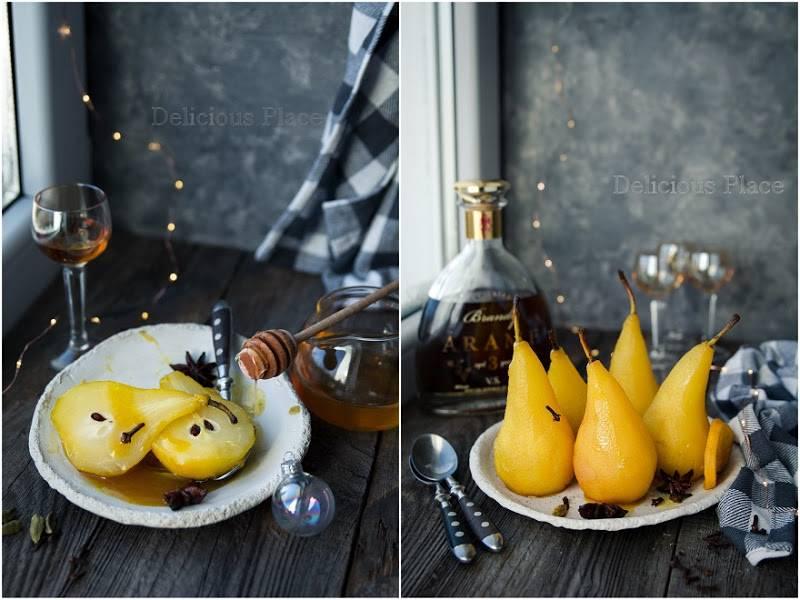 Gruszki w brandy / Pears in brandy