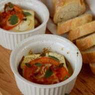 Feta pieczona z pomidorami i chili