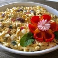 Kolorowa sałatka z ryżem