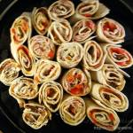 Roladki z tortilli na imprezę
