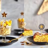 2 imprezowe dania z makaronem Lubella- sałatka i 'sernik'