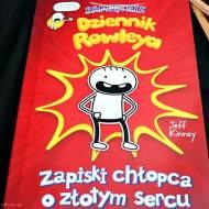 Dziennik Rowleya. Zapiski chłopca o złotym sercu - recenzja