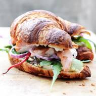 Przepis na kanapki croissants