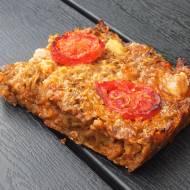 Zapiekanka pomidorowa mięsno-makaronowa