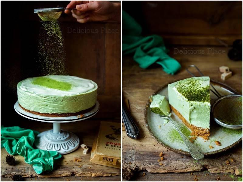 Sernik matcha / Matcha cheesecake