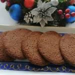 Wegańskie ciastka czekoladowo-migdałowe