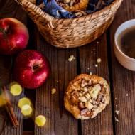 Drożdżówki z jabłkiem i kruszonką