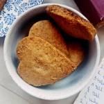 Wegańskie cynamonowe ciasteczka