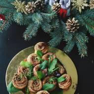 Pasztet zwinięty po francusku w świątecznej odsłonie
