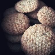 Żytnie ciasteczka kokosowe