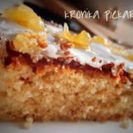 Cytrynowo - migdałowe ciasto Madera