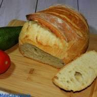 Orkiszowy chleb bez wyrabiania